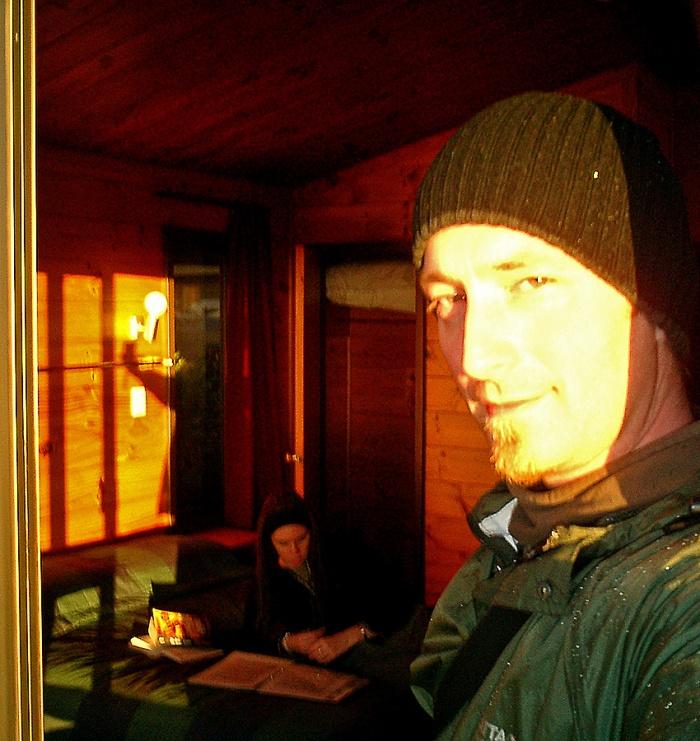 David J Rodger in Skotel Whakappa New Zealand - Room 305