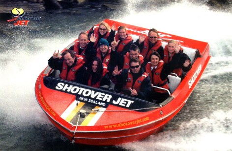 Shotover Jetboat Queenstown New Zealand 2003