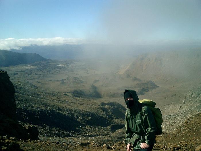Tongariro Crossing - New Zealand - David J Rodger  2003