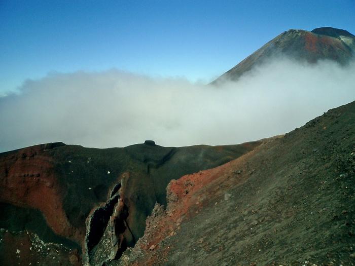 Tongariro Crossing - New Zealand - strange rock formations