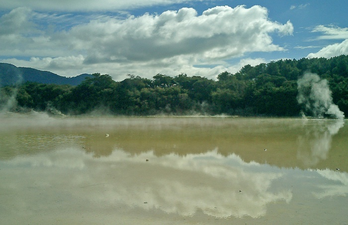 Wai-O-Tapu geothermal water