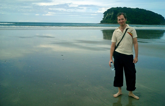 Whangamata Beach - New Zealand - David J Rodger in 2003