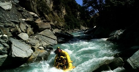 white water rafting in New Zealand - David J Rodger