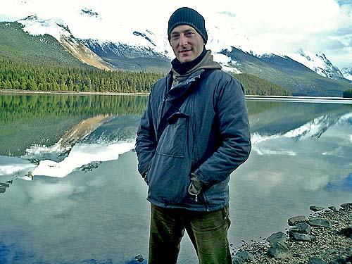 British Cyberpunk Cthulhu Mythos Horror Author David J Rodger - Maligne Lake Canada