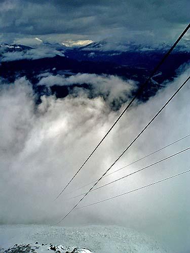 Travel Photo Canada 2003 by David J Rodger  Jasper - Sky Tram