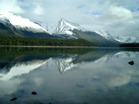 Travel Photo Canada 2003 by David J Rodger Maligne Lake