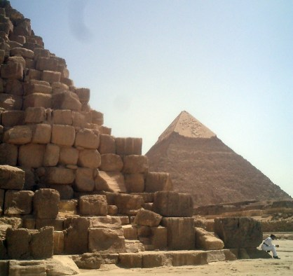 Travel Photo Egypt Nile Cruise - Great Pyramid of Giza- David J Rodger