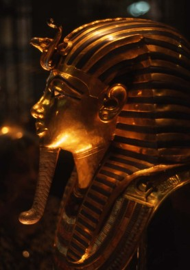 Travel Photo Egypt Nile Cruise Photos by David J Rodger Funeral mask of King Tutankhamen