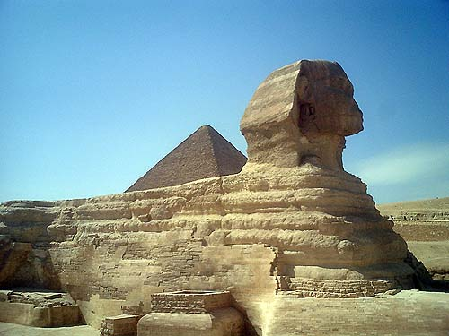 Travel Photo Egypt Nile Cruise Photos by David J Rodger Giza, Egypt the Pyramids & Sphinx