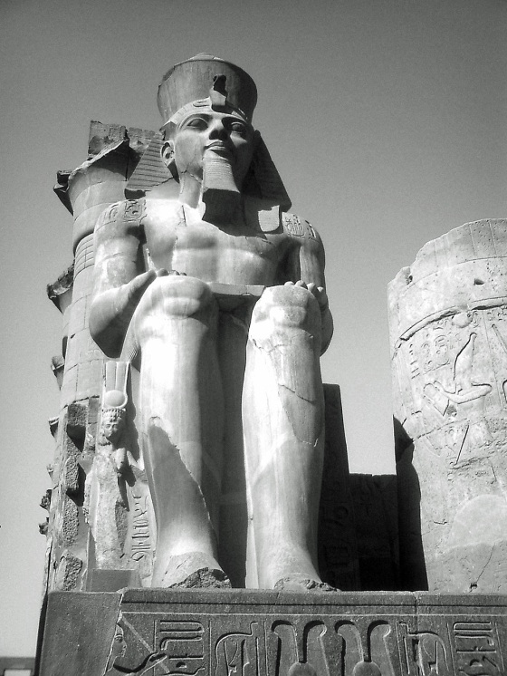Travel Photo Egypt Nile Cruise Photos by David J Rodger Luxor Temple