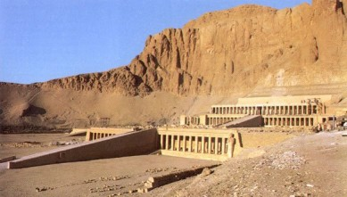 Travel Photo Egypt Nile Cruise Photos by David J Rodger Temple at Hatshepsut