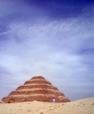 Travel Photo Egypt Nile Cruise - Step Pyramid Saqqara - Davi d J Rodger