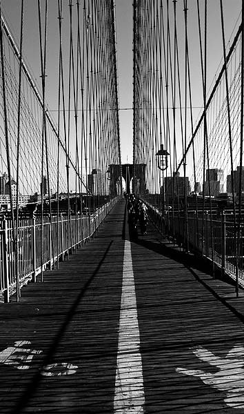 New York - travel photo - Brooklyn Bridge