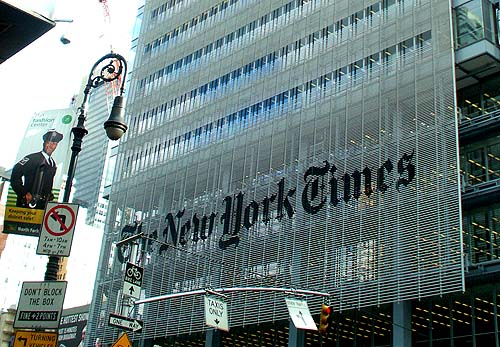 New York - travel photo - New York Times building