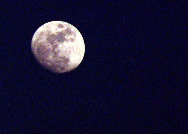 Travel photo Cyprus full moon