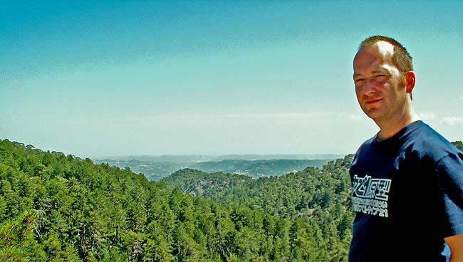 Travel photo Cyprus Mount Olympos David J Rodger