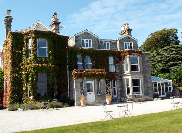 Cornwall England - travel photo - Tredethy Country House hotel