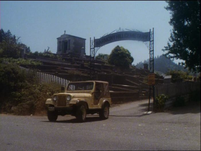 Salem's Lot (1979) - Harmony Hill Cemetery where Danny Glick is buried - scene from movie