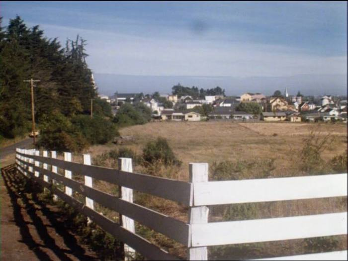 Salem's Lot (1979) - When Ben Mears  stands observing Marsten House