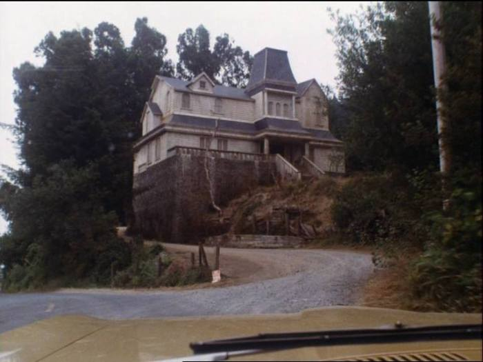The Marsten House, Salem's Lot (1979) - scene from movie
