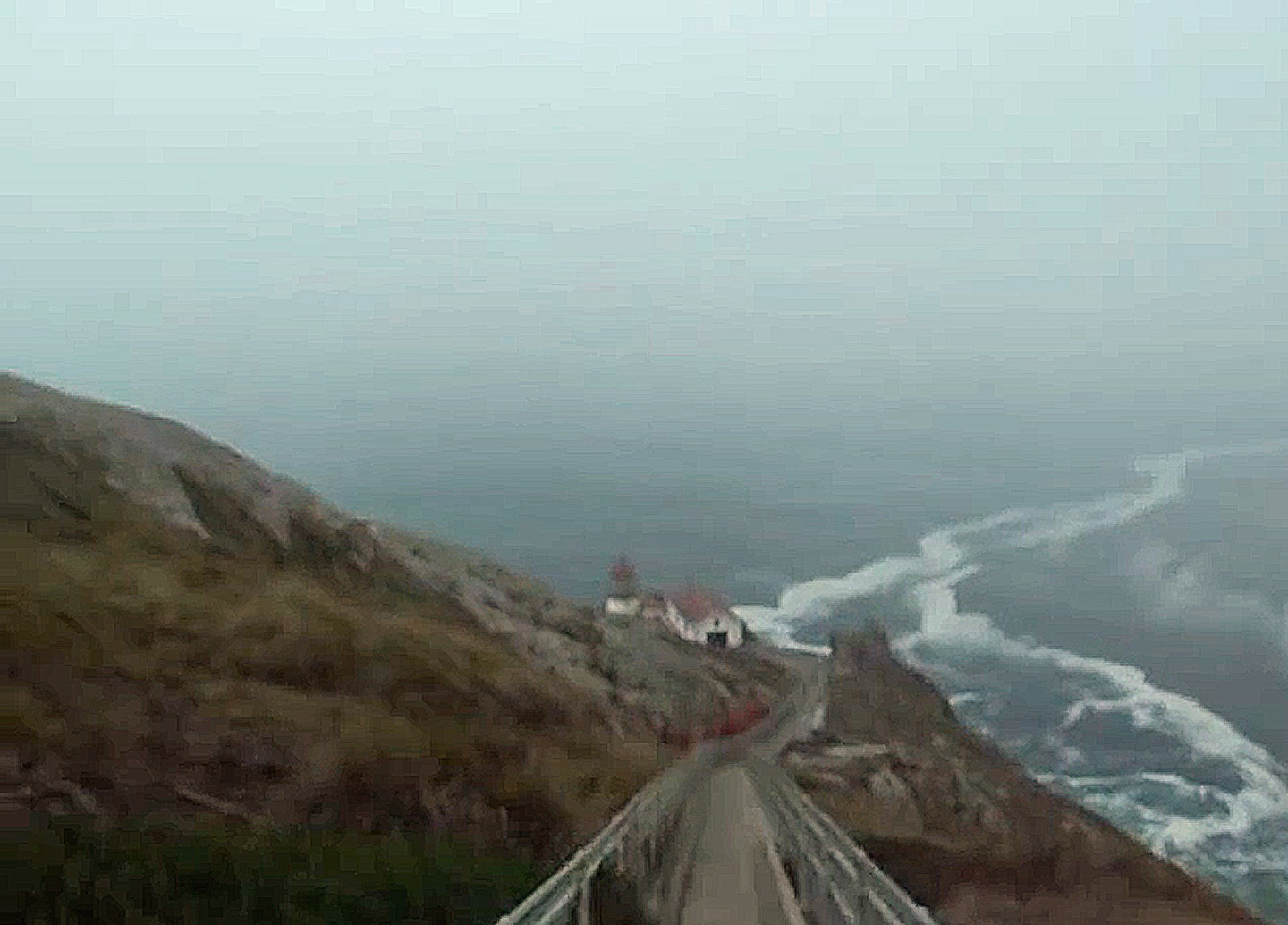 Tracking down John Carpenter's The Fog (1980) Point Reyes Lighthouse used as movie location photo and videos by David J Rodger