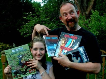 Fans of David J Rodger science fiction fantasy author and RPG creator 02