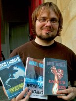 Fans of David J Rodger science fiction fantasy author and RPG creator 08