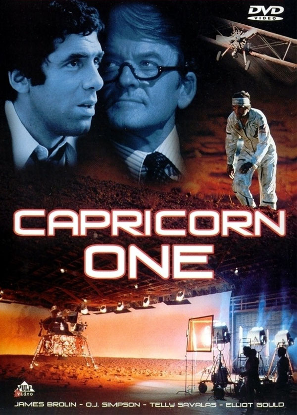 movie poster for Capricorn One 1977