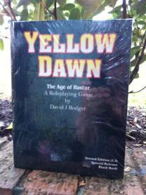 Phil Harrison customer photograph of Yellow Dawn The Age of Hastur - Hardback edition - Front