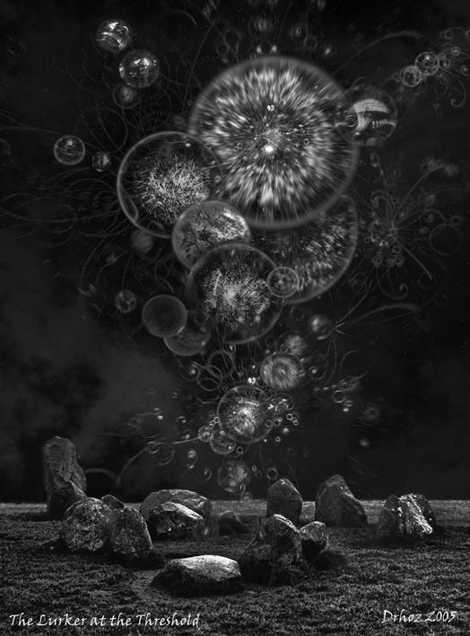 Image of Yog-Sothoth an Outer God of the Cthulhu Mythos