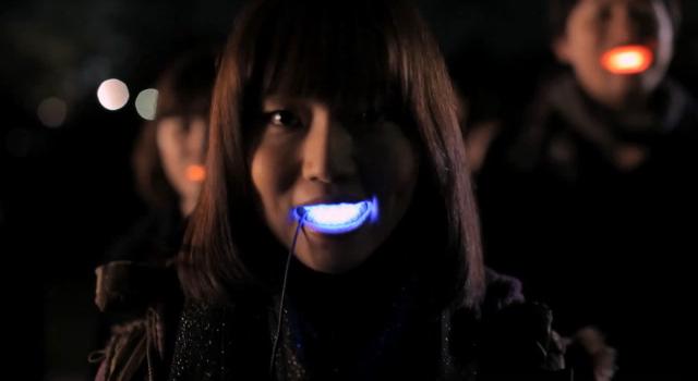 Laforet Harajuku Bright Light Smile LED for mouths