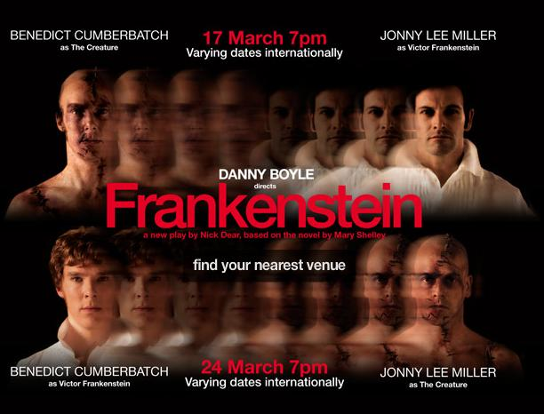 Frankenstein Danny Boyle National Theatre Live 17th and 24th March 2011
