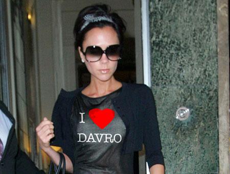 Victoria Beckham Loves Bobby Davro