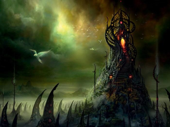 Oopart - Hades - Cover Art- Cyberpunk Fantasy