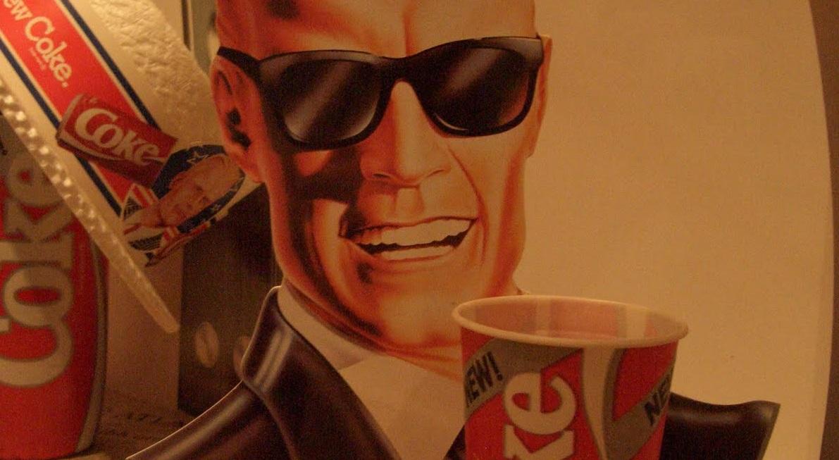 Max Headroom Coca Cola Coke