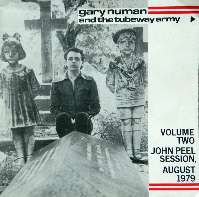 Front Cover of Gary Numan and the Tubeway Army - John Peel Sessions - Volume Two - August 1979