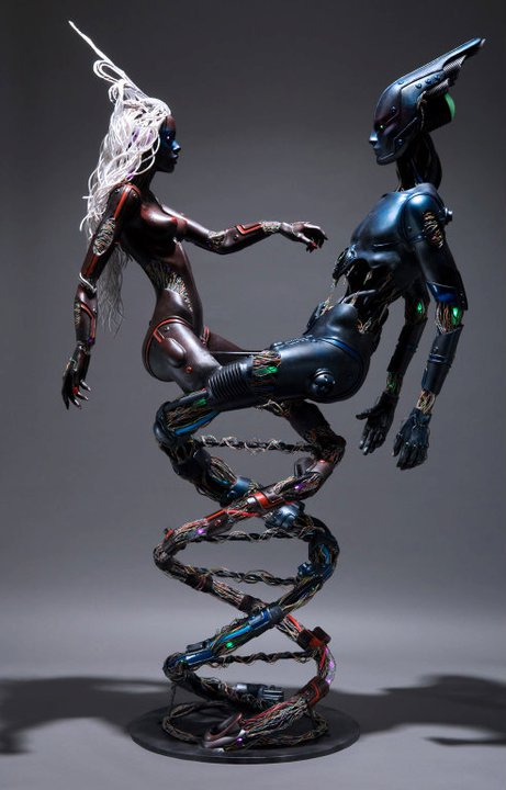 Futur Fusion Android Helix by Dominic Elvin