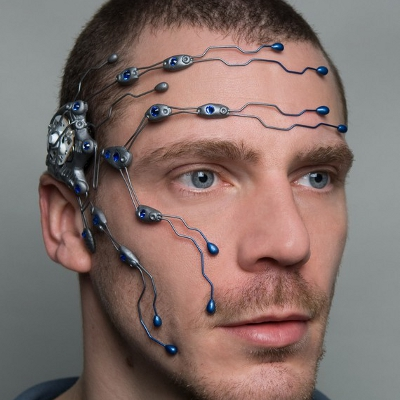 Nanotec Cybernetic Head System by Dominic Elvin