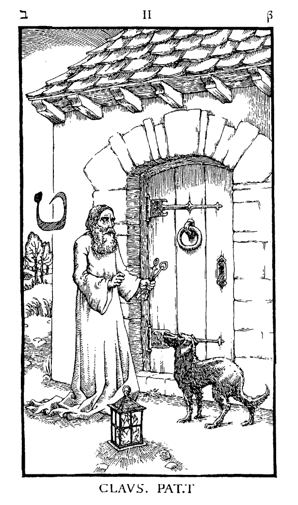 Occult and Tarot like symbolism used in Nine Gates Open that which is closed high quality