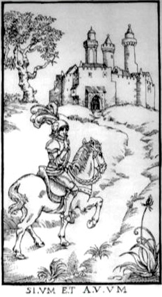 Woodcut Engraving from The Ninth Gate Silence Is Golden by Lucifer