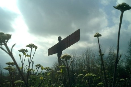 Angel of the North - Iron Statue North East England Newcastle