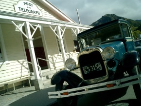 1920s automobile in Arrowtown New Zealand