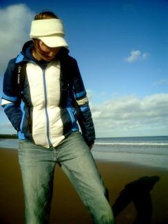 Cold Beach Contemplation