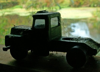 dinky-truck-covered-in-cobwebs-and-dead-bugs