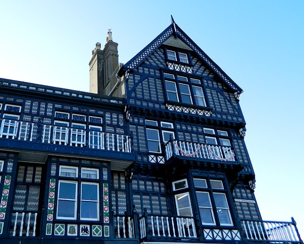 example of Tudor style in Dartmouth Devon