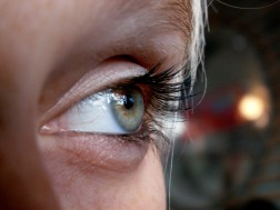 Girl's Green Eye Copyright David J Rodger