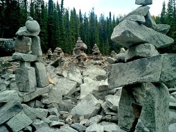 Inukshuk - Rocky Mountains Canada