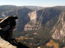 looking-down-on-curry-village-yosemite-national-park