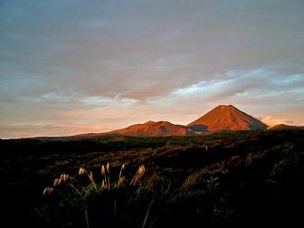 Mount Ngauruhoe New Zealand North Island