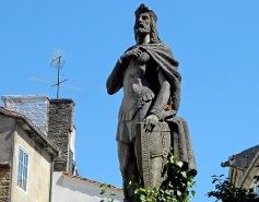 Old hero in modern times Santiago Spain